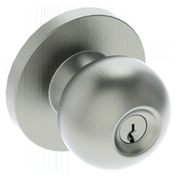 A doorknob by Hager Companies