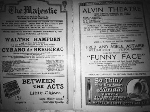 The Majestic and Alvin Theatres
